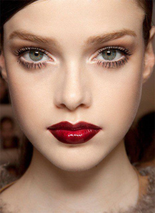 12-Christmas-Themed-Makeup-Looks-Ideas-For-Girls-Women-2015-3