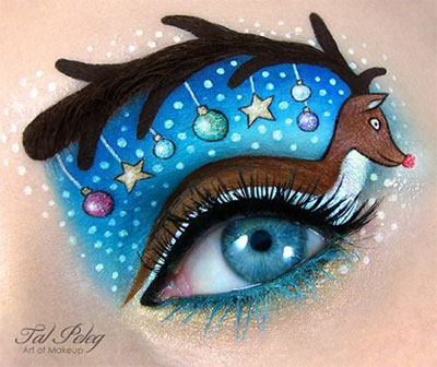 15-Christmas-Eve-Fantasy-Makeup-Looks-Styles-Ideas-For-Girls-Women-2015-14
