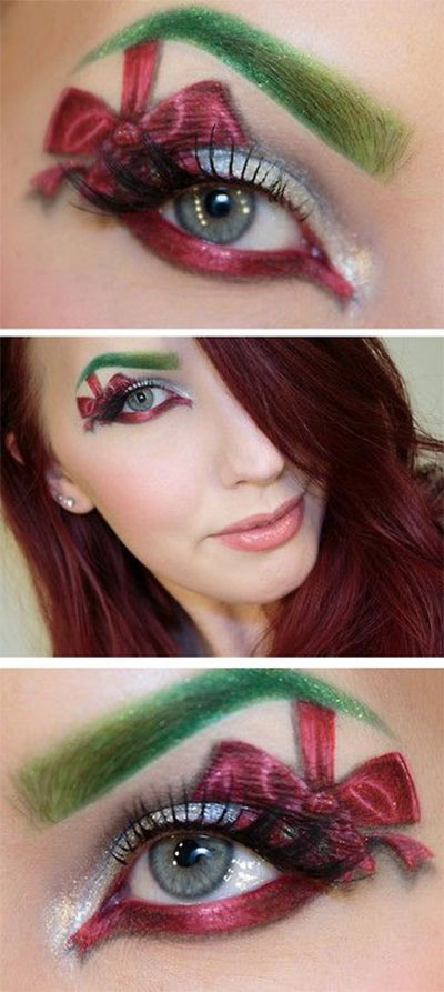 15-Christmas-Eve-Fantasy-Makeup-Looks-Styles-Ideas-For-Girls-Women-2015-15