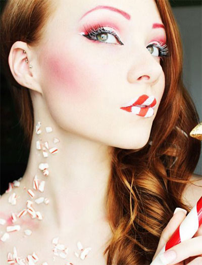 15-Christmas-Eve-Fantasy-Makeup-Looks-Styles-Ideas-For-Girls-Women-2015-3
