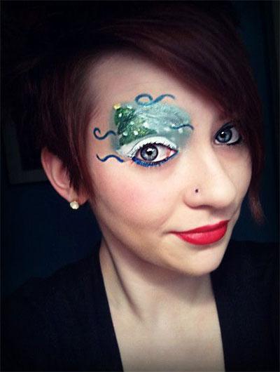 15-Christmas-Eve-Fantasy-Makeup-Looks-Styles-Ideas-For-Girls-Women-2015-4