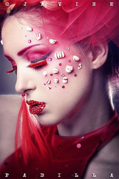 15-Christmas-Eve-Fantasy-Makeup-Looks-Styles-Ideas-For-Girls-Women-2015-7