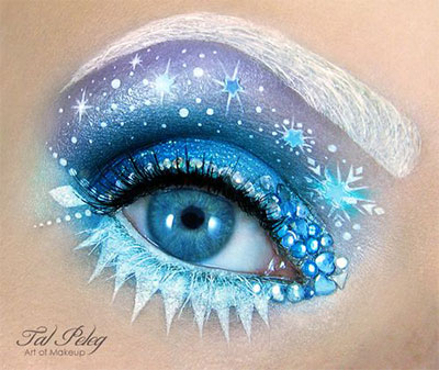15-Christmas-Eve-Fantasy-Makeup-Looks-Styles-Ideas-For-Girls-Women-2015-8