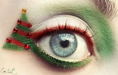 15-Christmas-Eve-Fantasy-Makeup-Looks-Styles-Ideas-For-Girls-Women-2015-9