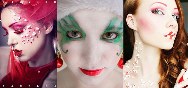 15 Christmas Eve Fantasy Makeup Looks, Styles & Ideas For Girls & Women 2015