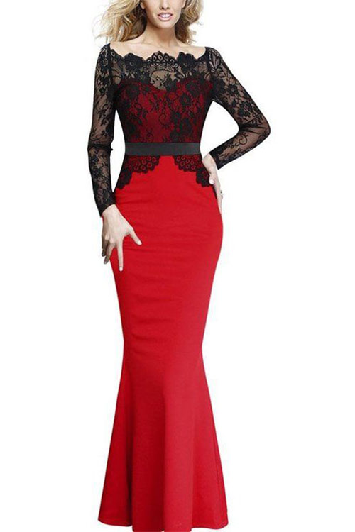 Ordinary Formal Christmas Party Ideas Part - 14: 18-Best-Christmas-Eve-Party-Dresses-Outfit-Ideas-