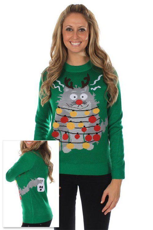 18-Best-Ugly-Lighted-Christmas-Sweaters-For-Girls -Women-2015-11