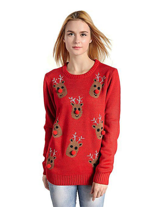 18-Best-Ugly-Lighted-Christmas-Sweaters-For-Girls -Women-2015-12