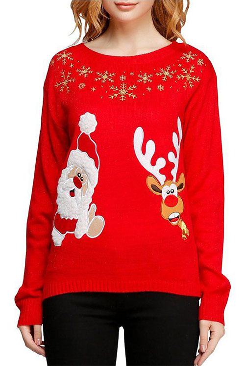 18-Best-Ugly-Lighted-Christmas-Sweaters-For-Girls -Women-2015-18