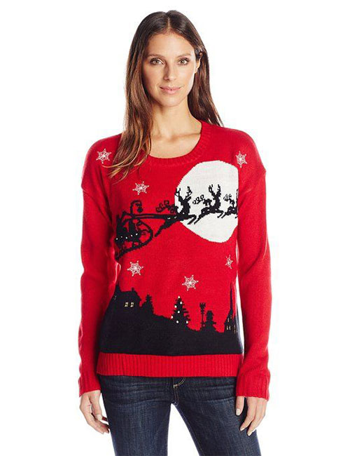 18-Best-Ugly-Lighted-Christmas-Sweaters-For-Girls -Women-2015-9
