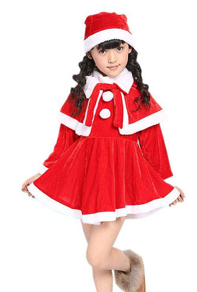 56496a61fd3 18 Santa Outfits & Dresses For Babies, Kids & Ladies 2015 | Modern ...