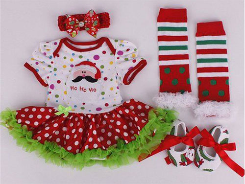 25+ Best Christmas Outfits For Newborn Babies & Kids 2015 | Xmas ...