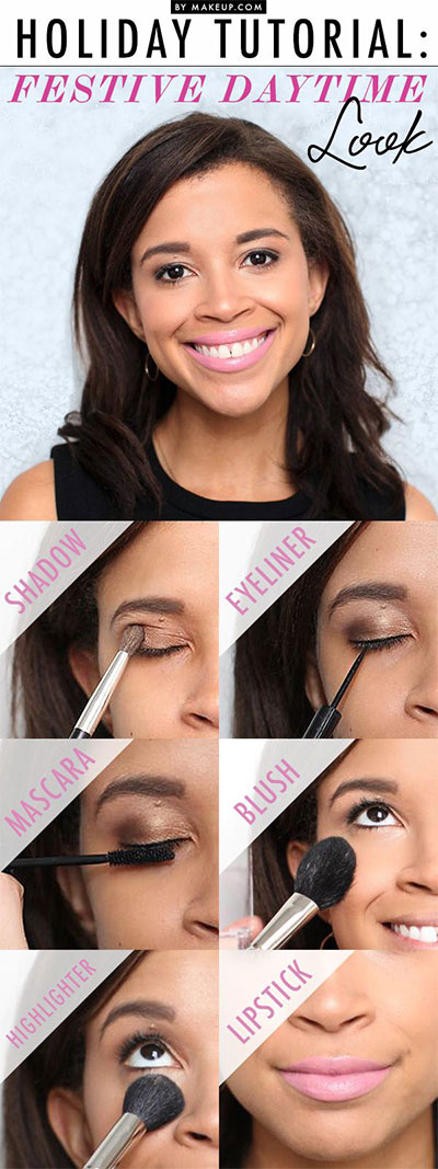 10-Easy-Simple-Winter-Makeup-Tutorials-For-Beginners-Learners-2016-11