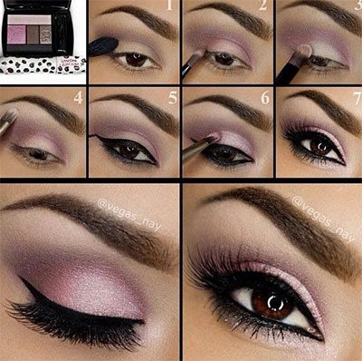 10-Easy-Simple-Winter-Makeup-Tutorials-For-Beginners-Learners-2016-2