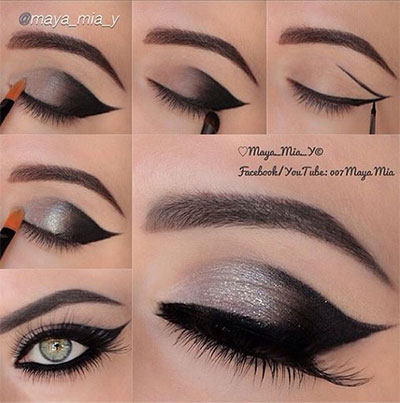 10-Easy-Simple-Winter-Makeup-Tutorials-For-Beginners-Learners-2016-4