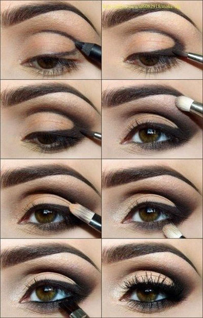10-Easy-Simple-Winter-Makeup-Tutorials-For-Beginners-Learners-2016-6