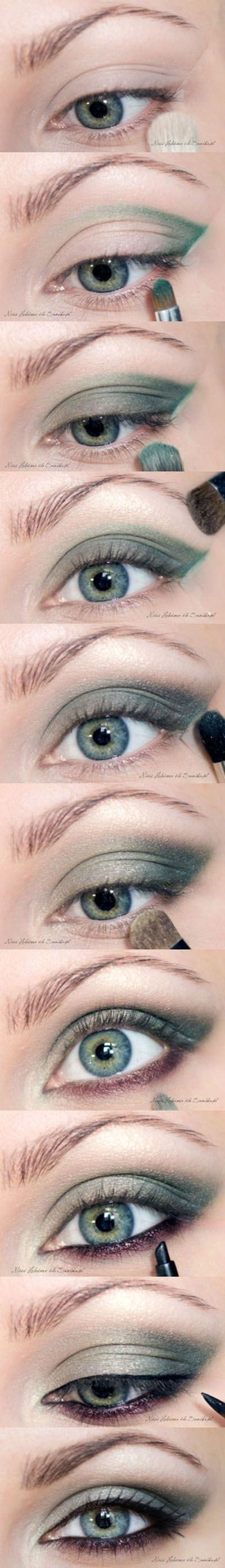 10-Easy-Simple-Winter-Makeup-Tutorials-For-Beginners-Learners-2016-9