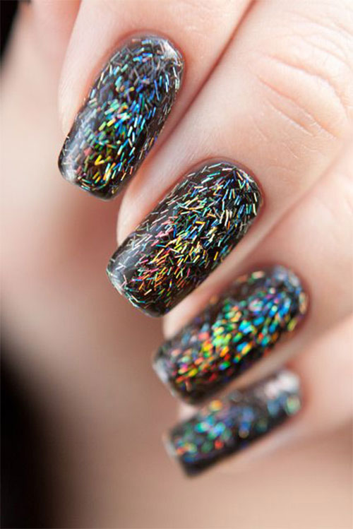 15 Best Happy New Year Eve Nail Art Designs Ideas Stickers 2015