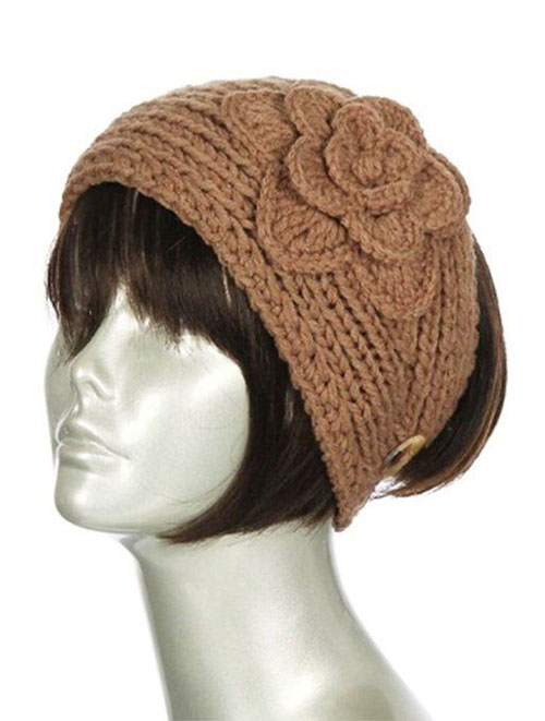 15 Winter Knit Pattern Headbands For Girls Women 2015 2016