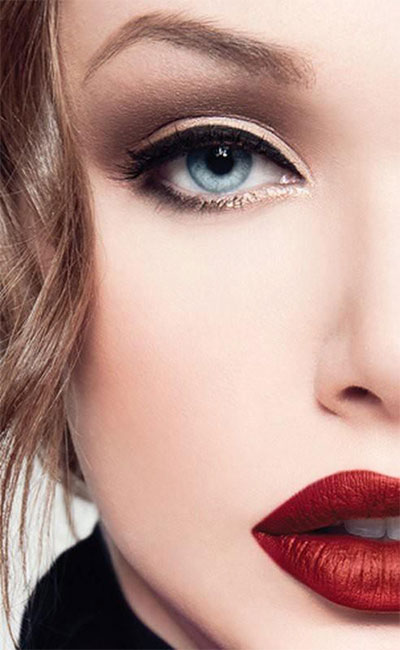 15-Winter-Themed-Dark-Lips-Makeup-Ideas-Styles-Looks-2016-13
