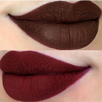 15-Winter-Themed-Dark-Lips-Makeup-Ideas-Styles-Looks-2016-15