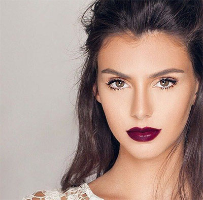 15-Winter-Themed-Dark-Lips-Makeup-Ideas-Styles-Looks-2016-6