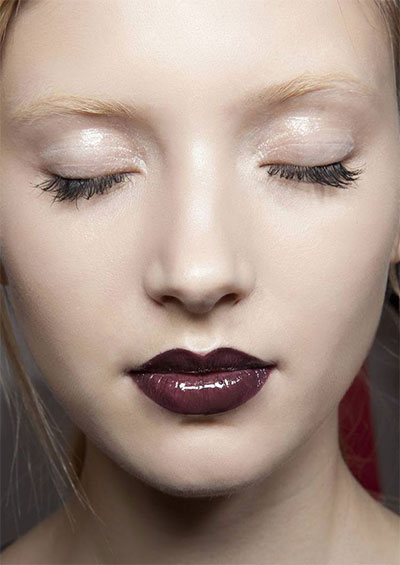 15-Winter-Themed-Dark-Lips-Makeup-Ideas-Styles-Looks-2016-9