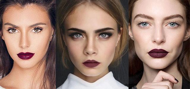 15-Winter-Themed-Dark-Lips-Makeup-Ideas-Styles-Looks-2016-F