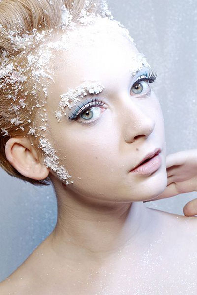 15-Winter-Themed-Fantasy-Makeup-Looks-Ideas-2016-Fairy-Makeup-11