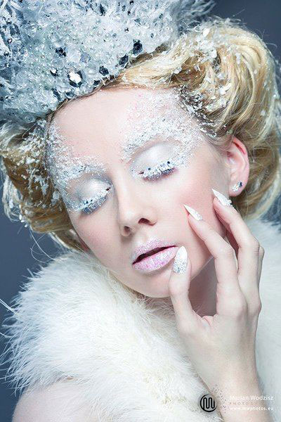15-Winter-Themed-Fantasy-Makeup-Looks-Ideas-2016-Fairy-Makeup-13