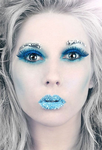 15-Winter-Themed-Fantasy-Makeup-Looks-Ideas-2016-Fairy-Makeup-3