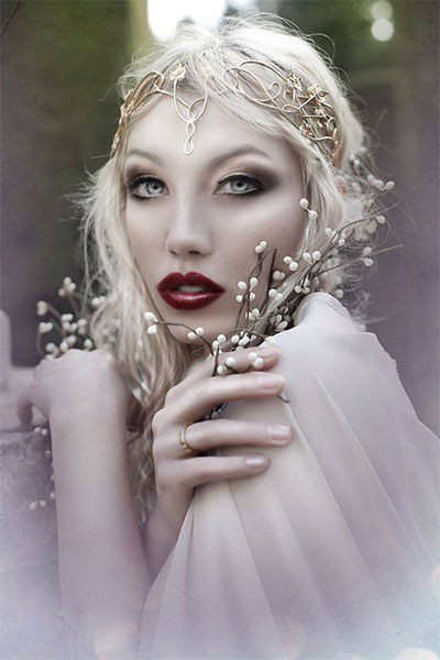 15-Winter-Themed-Fantasy-Makeup-Looks-Ideas-2016-Fairy-Makeup-4