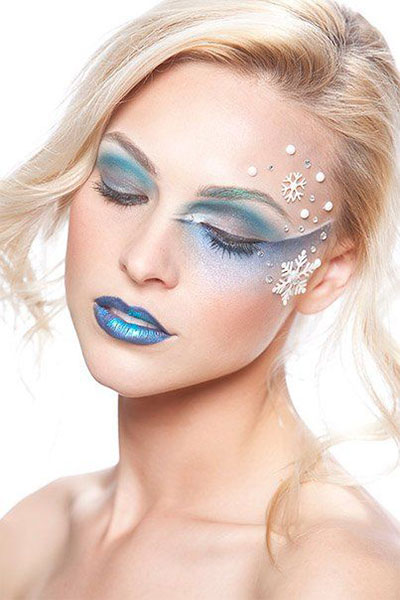 15-Winter-Themed-Fantasy-Makeup-Looks-Ideas-2016-Fairy-Makeup-6