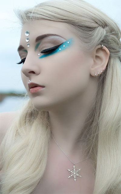 15-Winter-Themed-Fantasy-Makeup-Looks-Ideas-2016-Fairy-Makeup-7