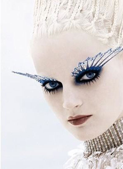 15-Winter-Themed-Fantasy-Makeup-Looks-Ideas-2016-Fairy-Makeup-9