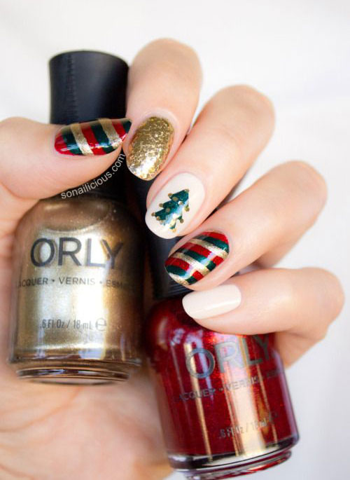 50-Best-Christmas-Nail-Art-Designs-Ideas-Stickers-2015-Xmas-Nails-10