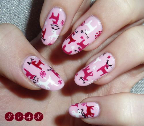 50-Best-Christmas-Nail-Art-Designs-Ideas-Stickers-2015-Xmas-Nails-12