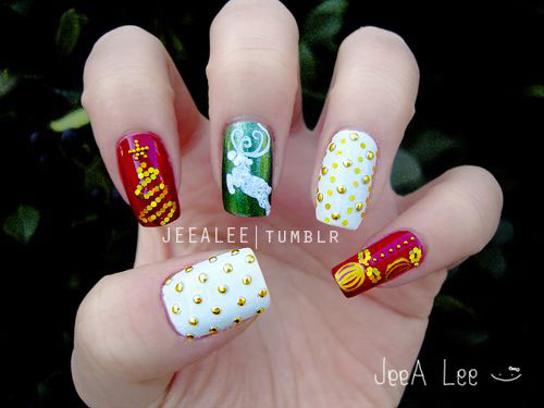 50-Best-Christmas-Nail-Art-Designs-Ideas-Stickers-2015-Xmas-Nails-17