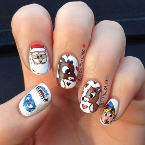 50-Best-Christmas-Nail-Art-Designs-Ideas-Stickers-2015-Xmas-Nails-18