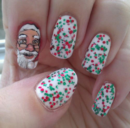50-Best-Christmas-Nail-Art-Designs-Ideas-Stickers-2015-Xmas-Nails-19