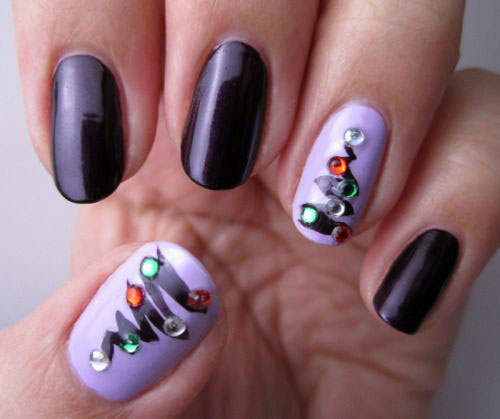 50-Best-Christmas-Nail-Art-Designs-Ideas-Stickers-2015-Xmas-Nails-20