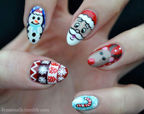 50-Best-Christmas-Nail-Art-Designs-Ideas-Stickers-2015-Xmas-Nails-21