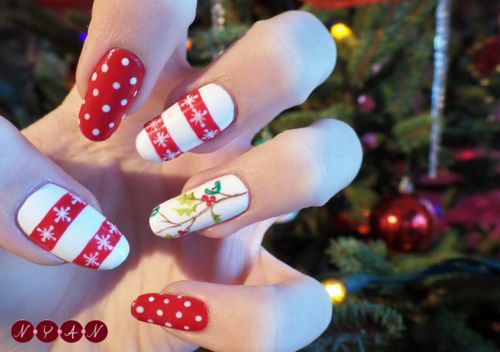 50-Best-Christmas-Nail-Art-Designs-Ideas-Stickers-2015-Xmas-Nails-22