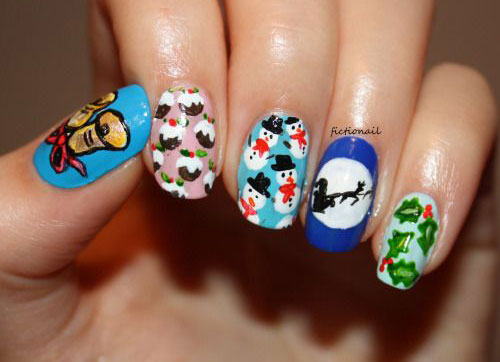 50-Best-Christmas-Nail-Art-Designs-Ideas-Stickers-2015-Xmas-Nails-24