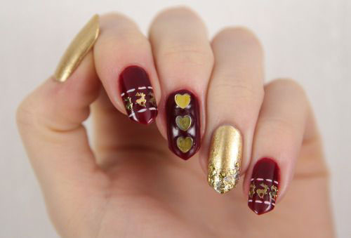 50-Best-Christmas-Nail-Art-Designs-Ideas-Stickers-2015-Xmas-Nails-25