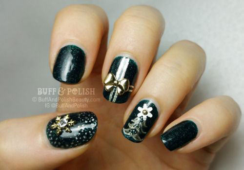 50-Best-Christmas-Nail-Art-Designs-Ideas-Stickers-2015-Xmas-Nails-27