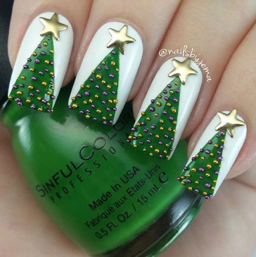 50-Best-Christmas-Nail-Art-Designs-Ideas-Stickers-2015-Xmas-Nails-3