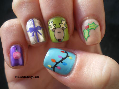 50-Best-Christmas-Nail-Art-Designs-Ideas-Stickers-2015-Xmas-Nails-30