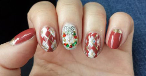 50-Best-Christmas-Nail-Art-Designs-Ideas-Stickers-2015-Xmas-Nails-31
