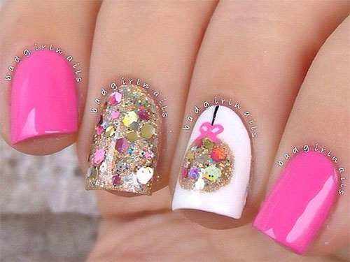 50-Best-Christmas-Nail-Art-Designs-Ideas-Stickers-2015-Xmas-Nails-36